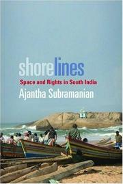 Cover of: Shorelines by Ajantha Subramanian