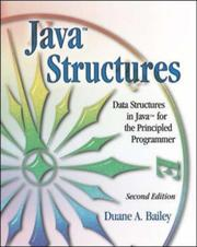 Cover of: Java Structures | Duane Bailey