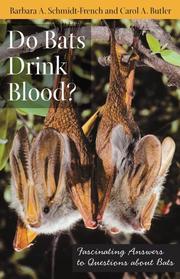 Do bats drink blood?
