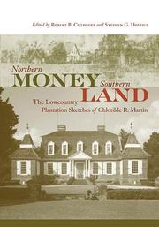 Cover of: Northern money, southern land | Chlotilde R. Martin