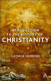 Cover of: An Introduction to the History of Christianity | George Herring