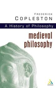 Cover of: History of Philosophy, Volume 2 | Frederick Charles Copleston