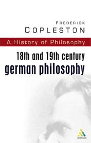 Cover of: History of Philosophy Volume 7 | Frederick Charles Copleston