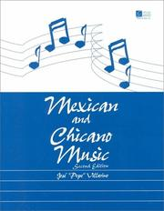 "Cover of: Mexican Chicano Music by Jose ""Pepe"" Villarino"