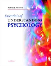 Cover of: Essentials of Understanding Psychology and Student Survival Guide | Robert S. Feldman
