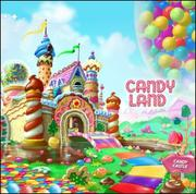 Cover Of Candyland Coloring Book By Cathy Beylon