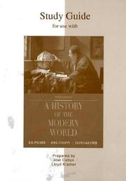 Cover of: Study Guide to accompany A History of the Modern World | Joel Colton