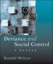 Cover of: Deviance and Social Control | Ronald Weitzer