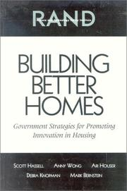 Cover of: Building Better Homes | Scott Hassell
