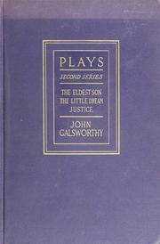 Cover of: Plays | John Galsworthy