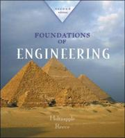Cover of: Foundations of engineering | Mark T. Holtzapple, W. Dan Reece