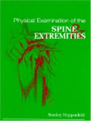 Cover of: Physical examination of the spine and extremities by Stanley Hoppenfeld