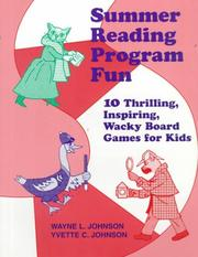 Cover of: Summer reading program fun | Wayne L. Johnson