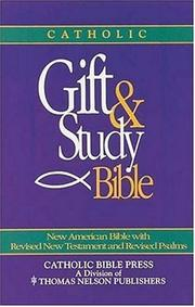 Cover of: Gift And Study Editions-nab | Not Applicable (Na )