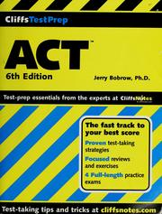 Cover of: ACT | Jerry Bobrow