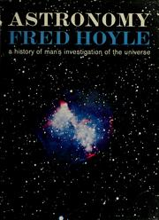 Cover of: Astronomy | Fred Hoyle