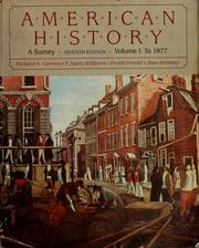 Cover of: American history | Richard Nelson Current