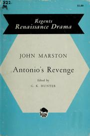 Cover of: Antonio's revenge | John Marston