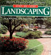 Cover of: Better homes and gardens step-by-step landscaping |