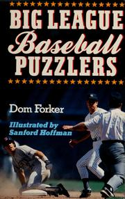 Cover of: Big League baseball puzzlers | Dom Forker