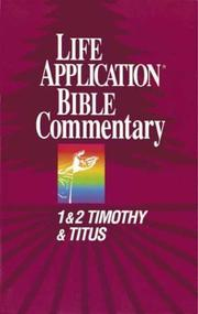 Cover of: 1 Timothy, 2 Timothy, Titus | Bruce B. Barton