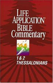 Cover of: 1 & 2 Thessalonians by Bruce B. Barton