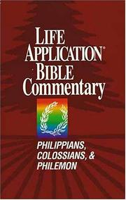 Cover of: Life Application Bible Commentary by Bruce B. Barton