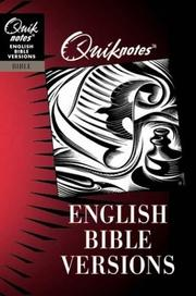 Cover of: English Bible versions | Philip Wesley Comfort