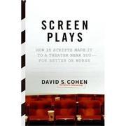 Cover of: Screen Plays | David S. Cohen