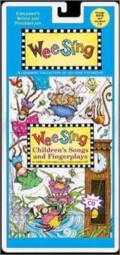 Cover of: Wee Sing Children's Songs and Fingerplays by Susan Hagen Nipp