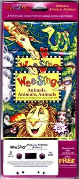 Cover of: Wee Sing Animals Animals Animals book and cd by Susan Hagen Nipp