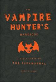 Cover of: Vampire Hunter's Handbook | Erin Slonaker
