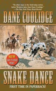 Cover of: Snake Dance by Dane Coolidge