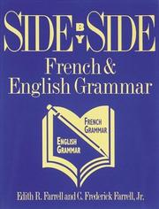 Cover of: Side by side French & English grammar | Edith R. Farrell