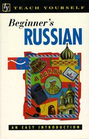 Cover of: Beginner's Russian | Rachel Farmer