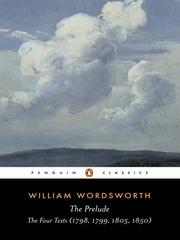 Cover of: The prelude by William Wordsworth