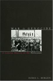 Cover of: War & genocide | Doris L. Bergen