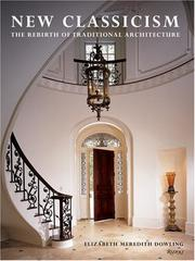 Cover of: New Classicism | Elizabeth Meredith Dowling