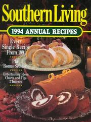 Cover of: Southern Living 1994 Annual Recipes | Southern Living Magazine