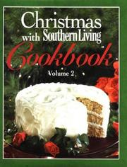 Cover of: Christmas With Southern Living Cookbook by Southern Living