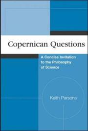 Cover of: Copernican Questions | Keith McKendree Parsons