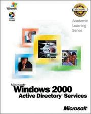 Cover of: Windows 2000 Active Directory by Microsoft Press