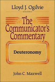 Cover of: The communicator's commentary | John C. Maxwell
