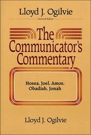 Cover of: The communicator's commentary | Lloyd John Ogilvie
