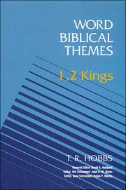 Cover of: 1, 2 Kings by T. R. Hobbs