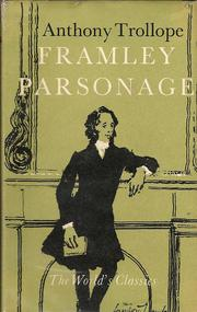 Cover of: Framley Parsonage by Anthony Trollope