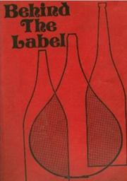 Cover of: Behind the label by Tim Holland