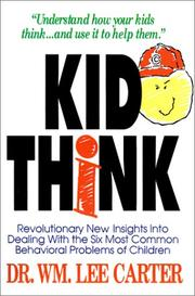 Cover of: Kid Think | William Lee Carter