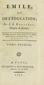 emile open library cover of emile by jean jacques rousseau