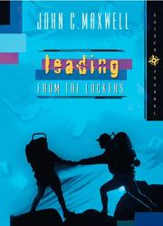 Cover of: Leading From The Lockers - Guided Journal | John C. Maxwell